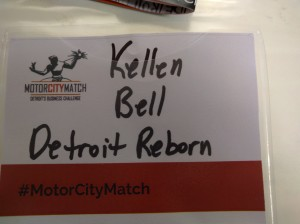 Detroit Reborn Motor City Match program, t-shirts for community empowerment